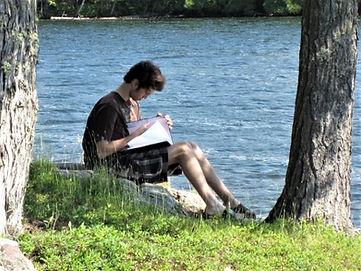 Chad Lake Writing.jpg