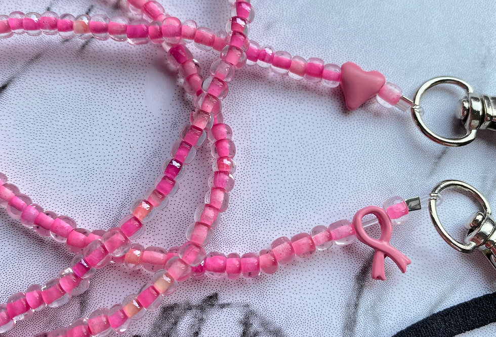 Hot Pink with Ribbon & Heart