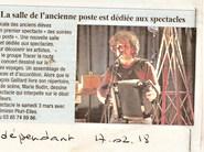 L'Indépendant, 17/02/2018