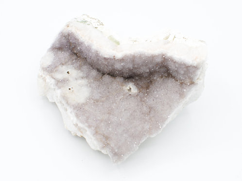 Porcelain Amethyst Cluster   Canadian Minerals   1242