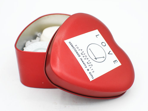 LOVE | Intention Collection | Soy Wax Melts | Heart Shaped Tin