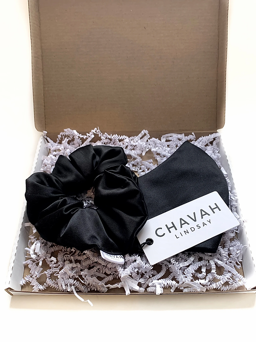 Satin Hair Scrunchie | Colour Options | Chavah Lindsay