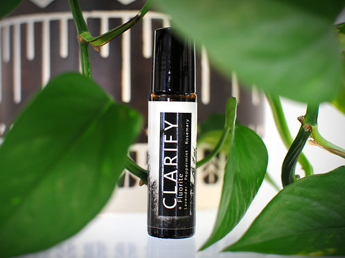CLARIFY Essential Oil Roller Essential Oil Roll on Lavender Essential Oil, Rosemary Essential Oil, Peppermint Essential Oil