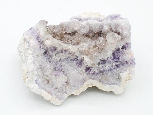 Porcelain Amethyst Cluster | Canadian Minerals | 1229