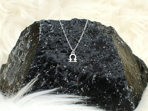 "Libra | Stacker Necklace | 0.925 Sterling Silver | 16"" or 18"" 