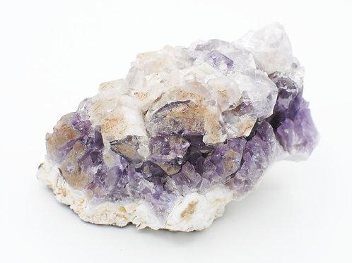 Porcelain Amethyst Cluster | Canadian Minerals | 1244