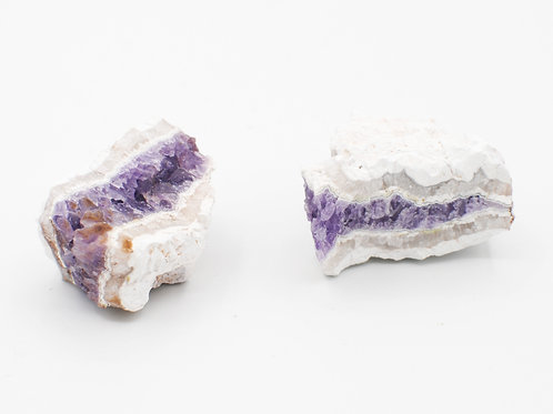 Porcelain Amethyst Cluster | Canadian Minerals | 1234