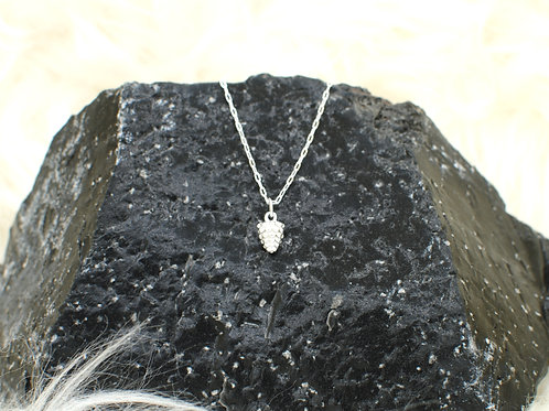 """Pinecone Necklace 
