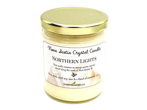 Northern Lights | Vanilla Mint | Crystal Candle |  Fundy Treasures