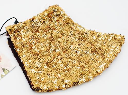 Gold Sequin - Fashion Mask   Chavah Lindsay   CL012