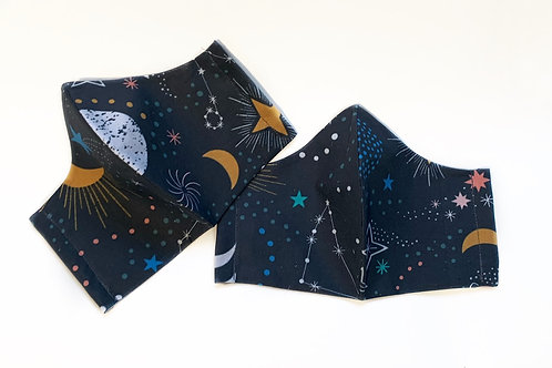 Celestial Print - Fashion Mask | Chavah Lindsay