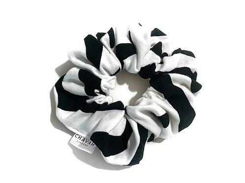 Zebra Hair Scrunchie | Chavah Lindsay