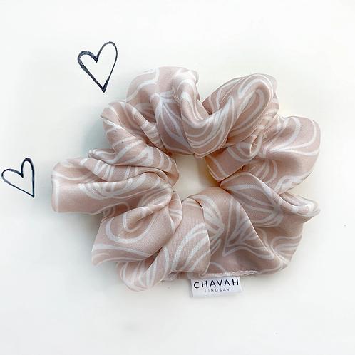 Pink Hair Scrunchie | Chavah Lindsay