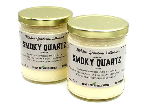 Smoky Quartz | Patchouli, Vetiver, Ginger & Sandalwood | Fundy Treasures