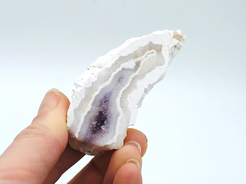 Porcelain Amethyst | Canadian Minerals | 1211
