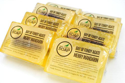 Crystal Bar Soap | Merry Mandarin | Fundy Treasures | Fundy Agate Insi