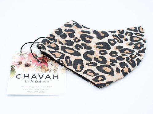 Leopard Print - Fashion Mask   Chavah Lindsay