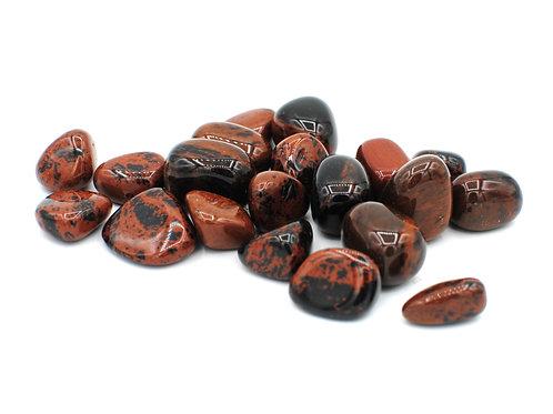 Mahogony Obsidian   Tumbled Gemstone   Polished Crystal