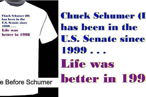 Life Before... Chuck Schumer