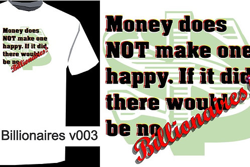 No Billionaires V003