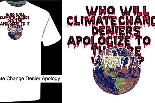 Climate Denier Apology