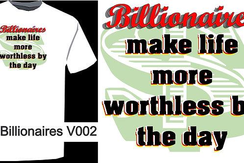 No Billionaires V002