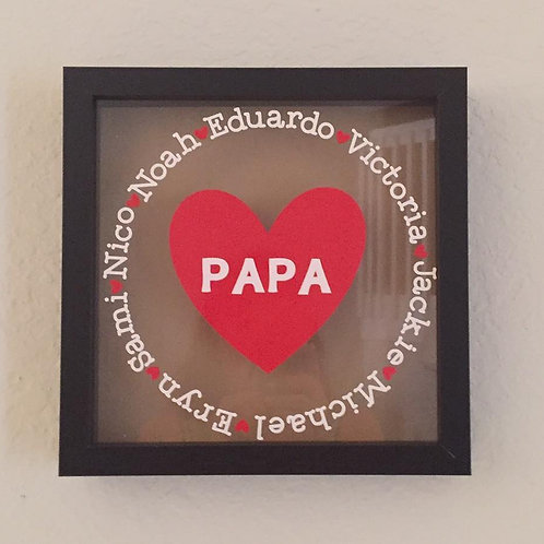 Papa Shadow Box 001