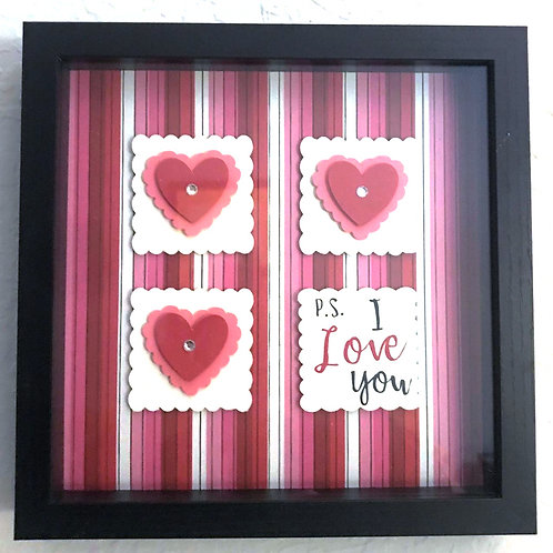 Heart Shadow Box 003