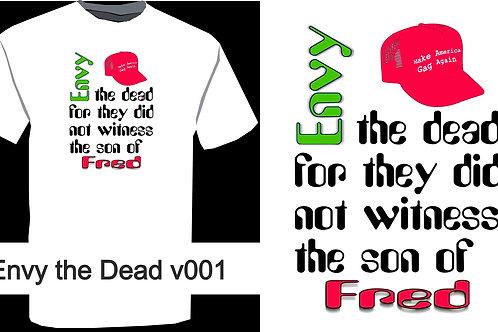 Envy The Dead Tee V001