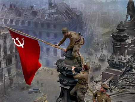 8 de Maio, Dia da Vitória do Exército Vermelho na Europa.