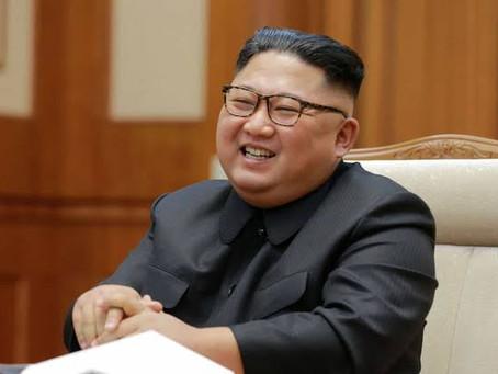 Kim Jong Un reencarna mais uma vez.