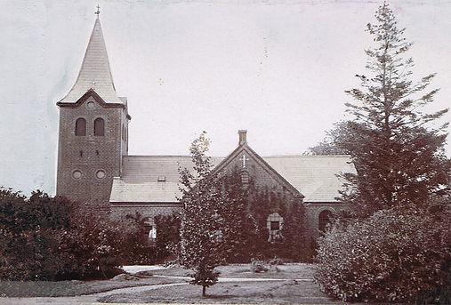 Valgmenighedskirken i Sdr. Nærpca. 1918