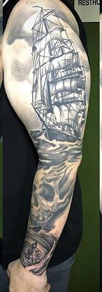 Update on a #wip #ship #sleeve #tattoo #