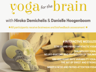 Yoga for the brain 2. Here we come. The neuro-psycho-physiology of yoga!