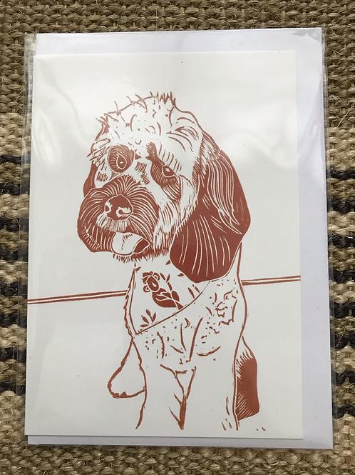 'Lulu' Greetings Card