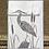 Thumbnail: 'Heron' Greetings Card