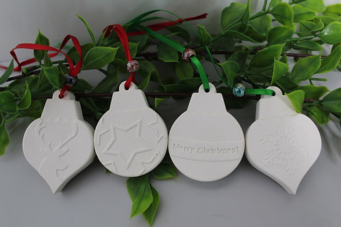 Christmas scented hanging ornament