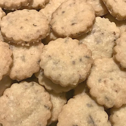 Lemon and Lavender Shortbread