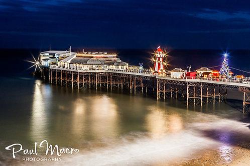 'Chrsitmas on the Pier' Greetings Card