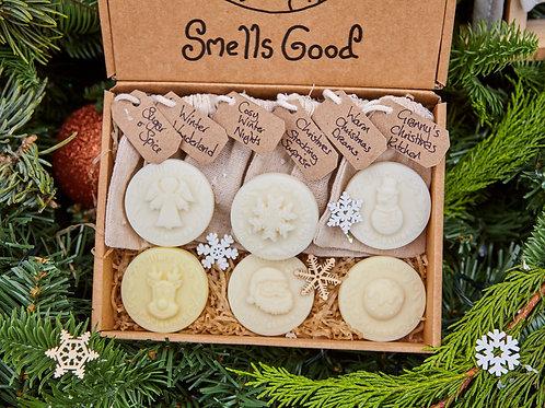 Christmas Wax Melt Selection Box