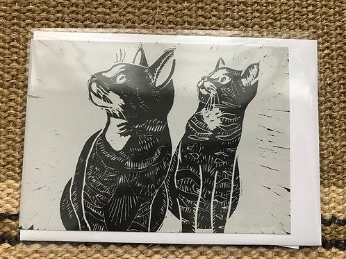 'Sammy & Sasha' Greetings Card