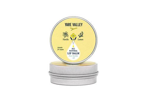 All Natural Vanilla and Lemon Balm Tin