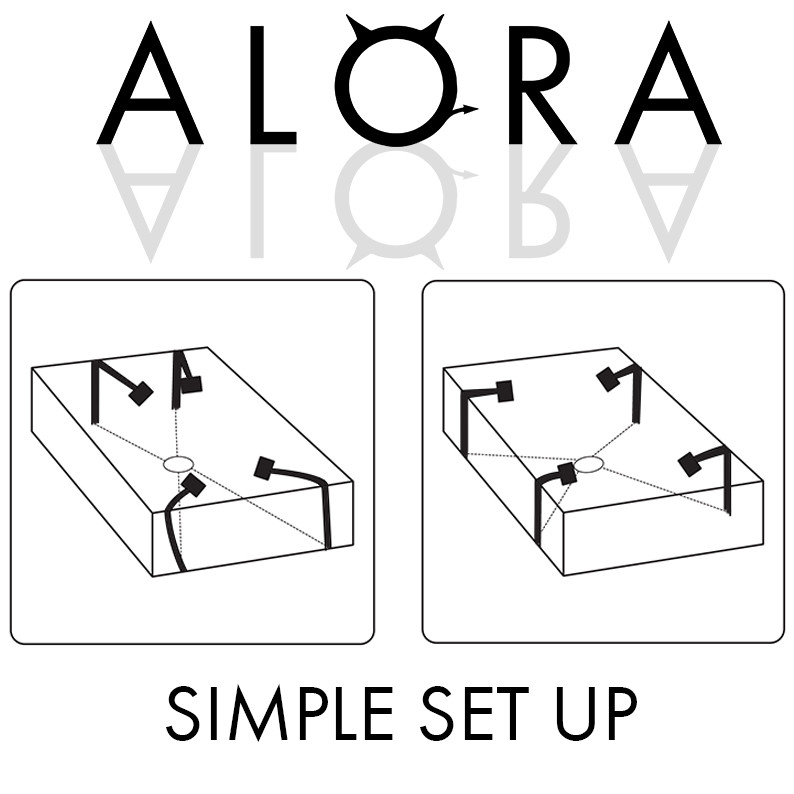 Alora Bed Restraints Are Easy to Set Up On Any Bed