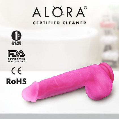 Suction Cup Pink Dildo