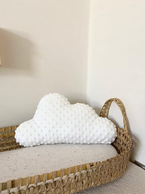 White cloud cushion- large