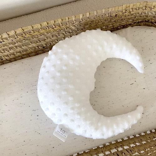 White moon cushion
