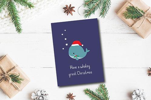 Christmas card-Whaley great Christmas