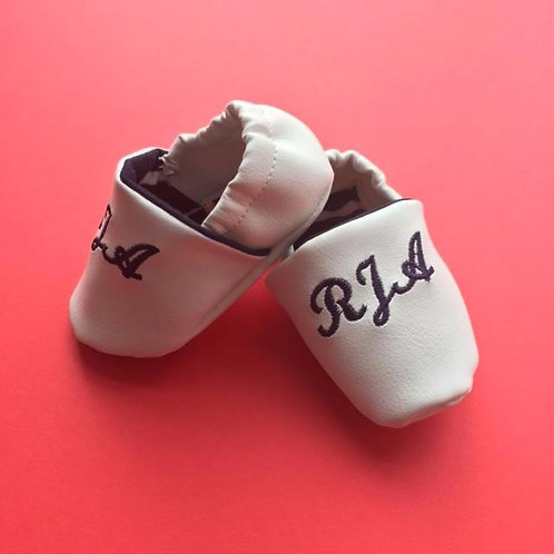 Personalised baby shoes- soft sole