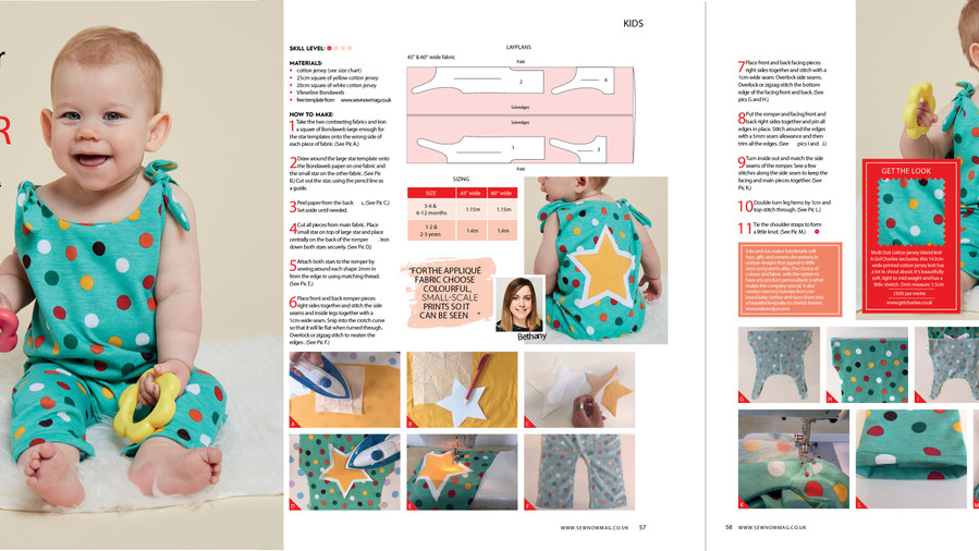 Sewing tutorial with Sew Now Magazine