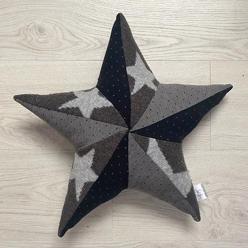 Memory cushion- patchwork star